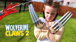Video Wolverine Claws (LOGAN Edition) Super Hero Gear Test & Toys Review for Kids! MP3, 3GP, MP4, WEBM, AVI, FLV Juni 2018
