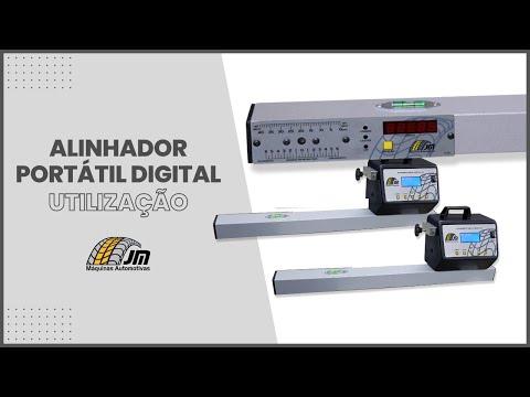 Alinhador Portátil Digital - Utilização