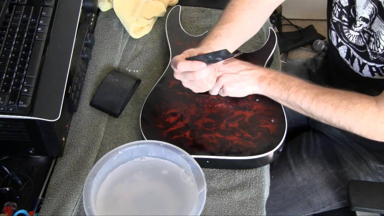 How to Wet-Sand & Polish an Electric Guitar