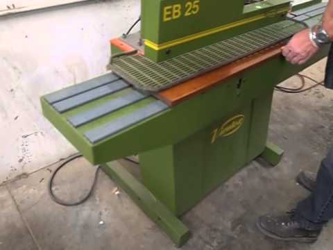 Virutex EB 25 Hot Air Edgebander