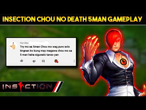 This Guy Said My Chou Can`t do Anything on 5man Gameplay ?   iNSECTiON TRH 5man Gameplay !