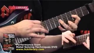 Belajar Teknik Solo Gitar Metal