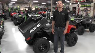 1. 2016 Arctic Cat 700 EFI TBX 4x4 Red with Power Steering
