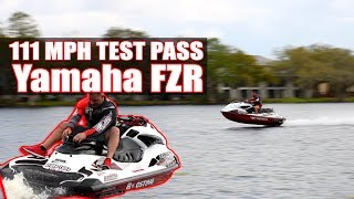9. 111 MPH Yamaha FZR by Boosting Performance