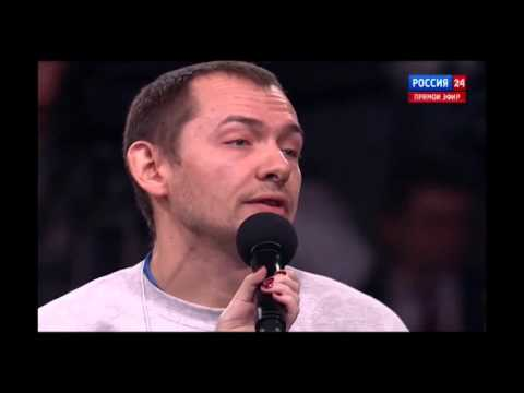 Які незручні запитання поставив український журналіст для російського президента? [ВІДЕО]