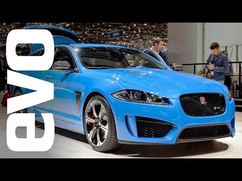 Shows - Henry gets videobombed by Harry Metcalf on the Jaguar stand at Geneva 2014. Whilst on the stand Harry takes us around the Jaguar XFR-S Sportbrake, F-Type Cou...