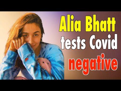 Alia Bhatt tests Covid negative shares a new pic.