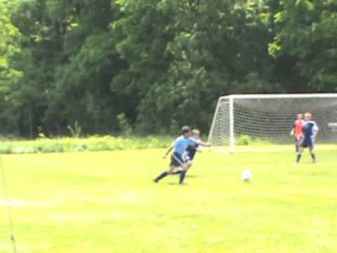 Soccer Game - Highlights from the first half of the game on June 4, 2011. Michigan Tigers FC, U11 Boys, Gold.