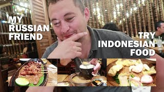 Video Orang Rusia Nyobain Makanan Indonesia! MP3, 3GP, MP4, WEBM, AVI, FLV Maret 2019