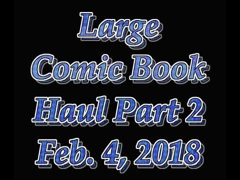 Roanoke Trip Comic Book Haul Part 2  Crane, JSC, Artgerm, and more