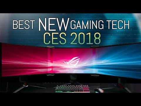 10 Best NEW Things for Gamers at CES 2018 (видео)