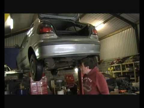 how to fit a towbar to a vauxhall vectra c
