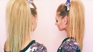 Cheer Hair Tutorial - YouTube