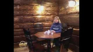 Кухня из горбыля. Ландшафтный дизайн Кемерово.