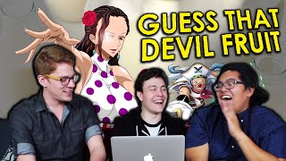 Guess that One Piece Devil Fruit Challenge | ft. Island Arcade & HERMSAUR