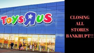 Video Toys R Us CLOSING ALL STORES. Amazon Crushes another store. MP3, 3GP, MP4, WEBM, AVI, FLV Maret 2018