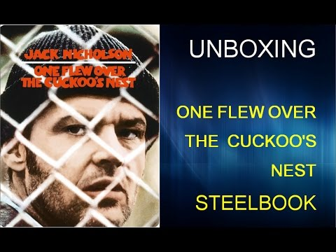 Unboxing: One Flew Over The Cuckoo's Nest Steelbook Edition Blu Ray