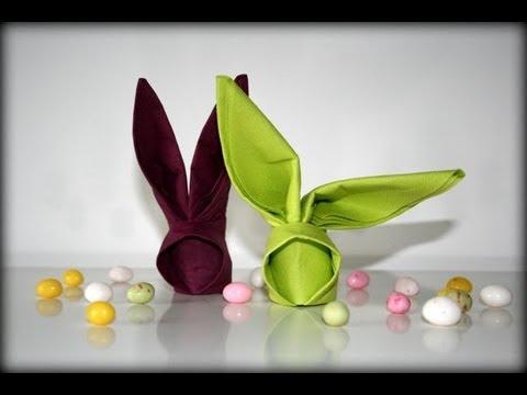 origami bunny - come farli!