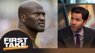 Steelers fans should have 'huge' problem with Patriots signing James Harrison   First Take   ESPN