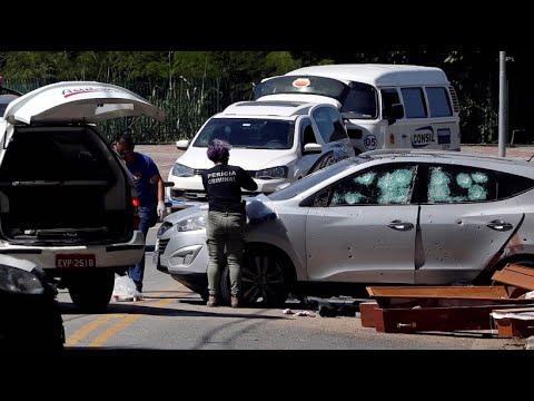 Brasilien: Zehn Tote nach Schusswechsel zwischen Auto ...