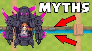 Video Top 10 Mythbusters in Clash Royale | Myths #3 MP3, 3GP, MP4, WEBM, AVI, FLV Juli 2017