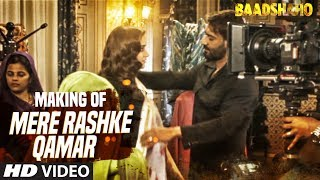 We present to you the making of Mere Rashke Qamar Song from the upcoming Bollywood movie Baadshaho.The movie features Ajay Devgn, Emraan Hashmi, Esha Gupta, Ileana D'Cruz, Vidyut Jammwal and Sanjay Mishra in the lead roles.___Enjoy & stay connected with us!► Subscribe to T-Series: http://bit.ly/TSeriesYouTube► Like us on Facebook: https://www.facebook.com/tseriesmusic► Follow us on Twitter: https://twitter.com/tseries► Follow us on Instagram: http://bit.ly/InstagramTseries