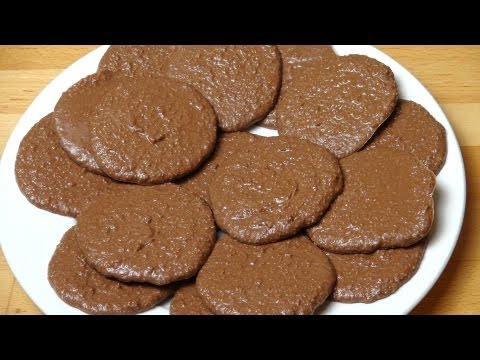 חיתוכיות קוקוס שוקולד ללא אפיה