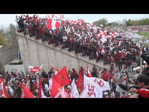 huracan las Heras previa futbol chants - La Banda Nº 1 - Huracán Las Heras