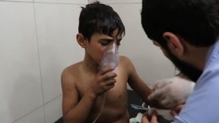 Syria activists: Warplanes dropped chlorine bombs in Aleppo