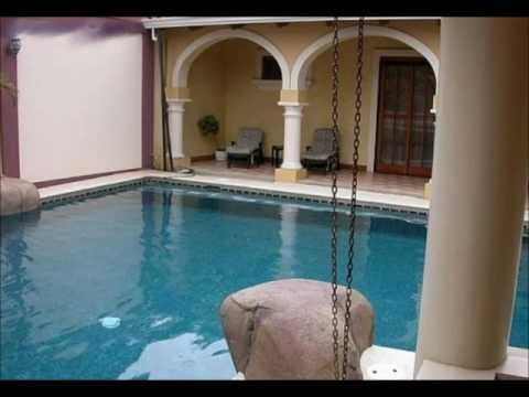 Costa Rica real estate – 1 story dream villa with enormous POOL!!! Cariari