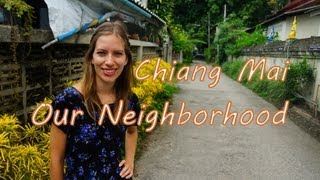 Our Neighborhood In Chiang Mai Thailand A Tour Of Some Thai Buddhist Temples Thai Homes And Dogs