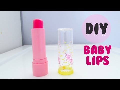 lip - Hey guys! A lot of you guys wanted me to do a DIY lip balm, so I decided to make a DIY Maybelline Baby Lips! Don't forget to send me a picture if you try it ...
