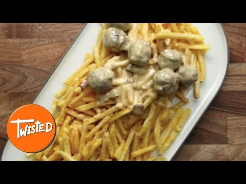 Loaded Cheeseburger Meatball Fries Recipe | Loaded Fries Recipe | Twisted