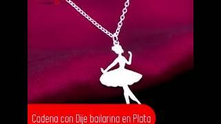 Cadena con Dije bailarina en plata