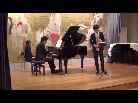 Concert « Musique de chambre et improvisation »<br /> Improvisations et Florent Schmitt, Légende pour saxophone et piano