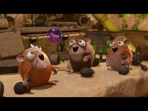 The jungle bunch in hindi S2 🐀🐀🐀🐭🐭🐀🐀episode 6 Bad hamsters