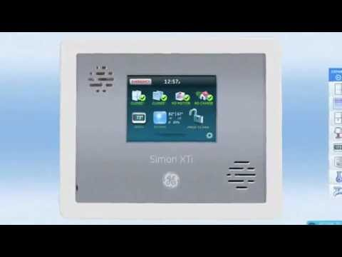 video:B&D Security- Cellular Monitoring System- GE Simon XTI (360p).flv