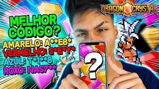 QUAL O MELHOR CÓDIGO DE DIAMANTE !? - Dragon Crystal ‹ Ine ›