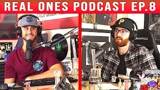 6IX9INE, Kyrie Irving, Toxic Sunglasses, NFL Game Picks | REAL ONES PODCAST #8 by The Cannabis Connoisseur Connection 420