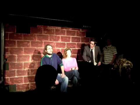 Funny Chris Matthews Impersonation - HardBall - Comedy Improv - Austin, Texas (5 of 7)