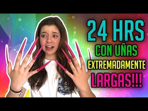24 HORAS CON UÑAS EXTREMADAMENTE LARGAS
