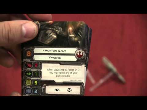 Wave x - Tom Vasel takes a look at the first wave expansion for Star Wars: X-wing Miniatures Buy great games at http://www.funagain.com Find more reviews and videos a...