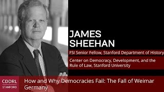 Weimar Germany  city images : James Sheehan, How and Why Democracies Fail: The Fall of Weimar Germany
