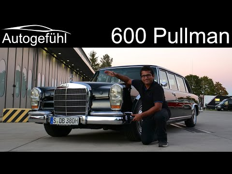 Mercedes 600 Pullman V8 REVIEW - The ultimate German stretch Limo! W100 (1980) - Autogefühl