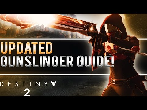DESTINY 2 REVAMPED HUNTER GUNSLINGER GUIDE! (6 Golden Gun Shots, New Dodge Ability & More!)