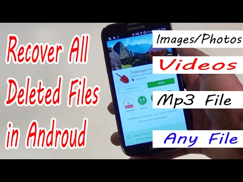 Recover Deleted Photos,Videos, And Files On All Android Devices Using DiskDigger - 2018
