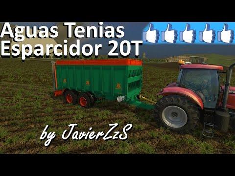 Aguas Tenias Manure Spreader Tandem v1.0