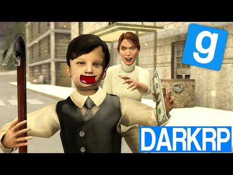 L'ENFANT VOLEUR !! - Garry's Mod DarkRP (видео)