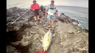 Nonton 94 kg and 73 kg Yellowfin off the rocks and a broken Stella 30.000! Film Subtitle Indonesia Streaming Movie Download