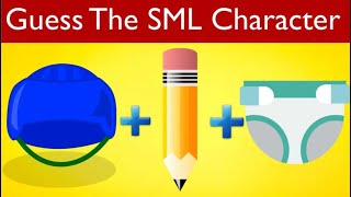 Guess The SML Character By Drawings!   SML Quiz   SuperMarioLogan Game